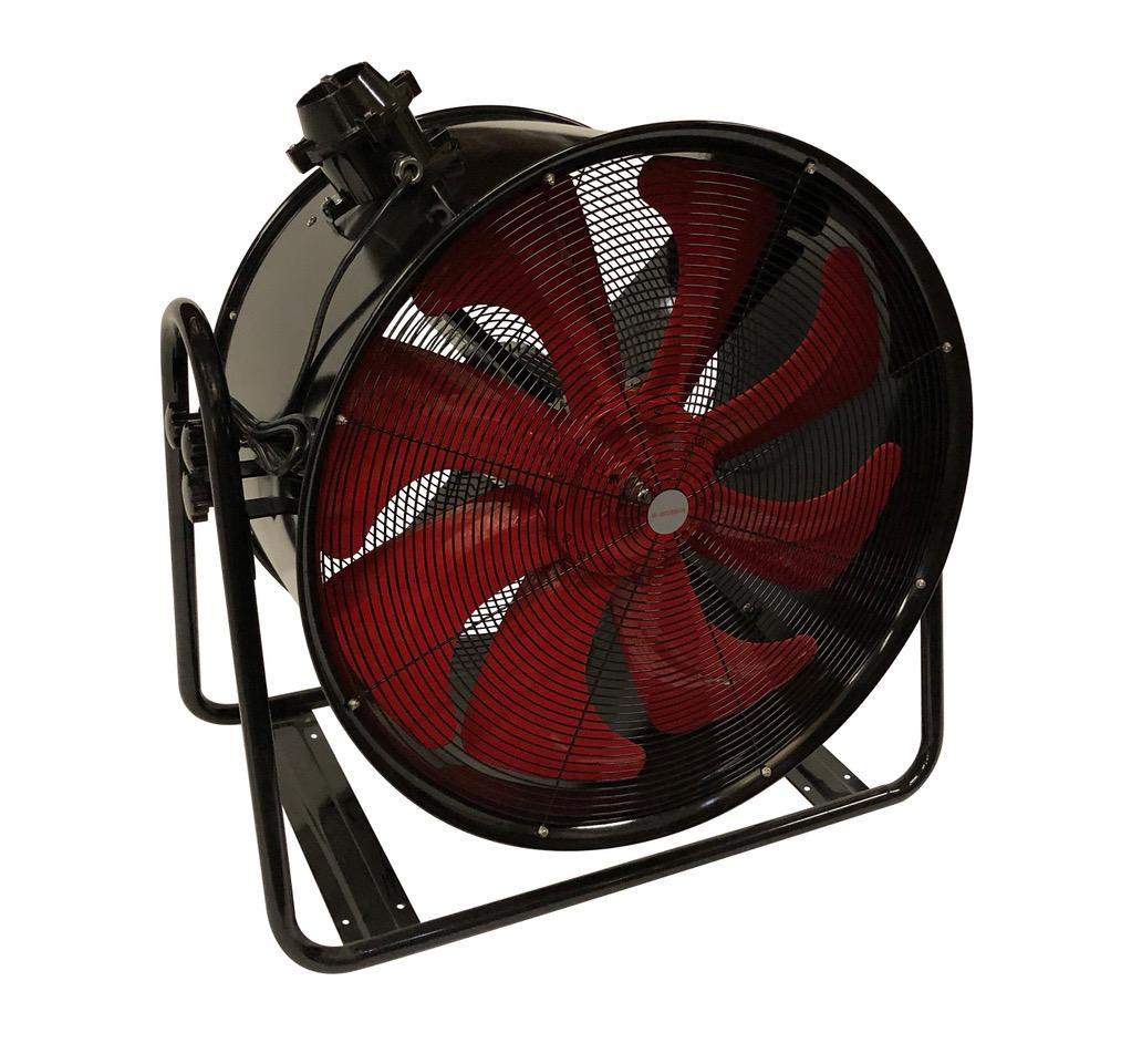 Axial Tubular Fan : Airadyne airaf tube axial fan